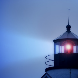 Lighthouse Beacon --- Image by © Royalty-Free/Corbis